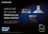 Samsung Ankastre Set (Mikrodalga Fırın Hediyeli)