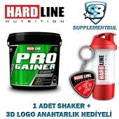 Hardline Progainer Çilek 5000 Gr. + 1 Shaker + 1 3d Logo Anahtarl
