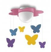 Philips Meria 40096 28 16 Kız Çocuk Odası Avize Lamba Aydınlatma