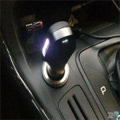 Nonda Zus Akıllı Araç Yer Bulucu Çift Usb Girişli Titanyum Uçlu Araç Şarjı