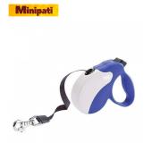 Ferplast Amigo S Tape Mavi Renk Otomatik Köpek Gezdirme Kayışı