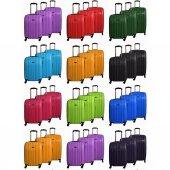 Tutqn Safari Kırılmaz Valiz 3 Lü Set 6 Renk Seçeneği