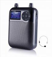 Leader K100 Usb Aux Radyo Powerbank Alarm Taşınabilir Ses Sistemi
