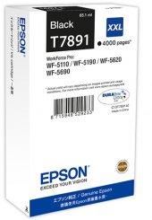 Epson C13t789140 (79xxl) Wp5110 5190 Siyah Kartuş Orjinal 4000 Sy