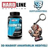 Hardline Karnitin 100 Kapsül + 3d Maskot Anahtarlık Hediyeli