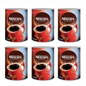 Nescafe Classic Hazır Kahve 1 Kg Teneke 6 Adet