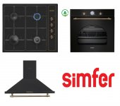 Simfer Set 28 (7319 Ankastre Fırın 3123 Ankastre Ocak 8667 An