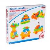 Pilsan Zeka Blokları Kutulu (50 Parça) Kargo Bedava