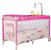 Sunny Baby 624 Siesta 60x120 Park Yatak Pembe