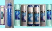 8 Li Filtre Seti Su Arıtma Cihazı Çift Karbonlu (1 Yıllık Set)