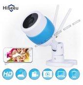 Babycamera Dış Mekan Full Hd Wifi Ip Güvenlik Kamerası Çift Anten