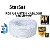 Starsat Rg6 U 4k Full Hd Rulo Anten Kablosu 100 Metre