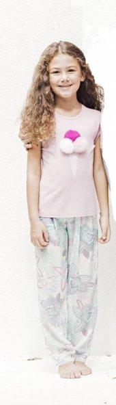 Catherines 1233 Anne Kız Takımının Çocuk Pijama Takımı