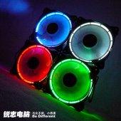 Kırmızı Mavi Seçenekli 12 Cm Kasa Fanı, Oyuncu Gamıng Fan Hadron