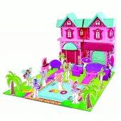 Winx Kız Çocuk Oyun Evi 15 Parça Aksesuarlı Rüya Evi