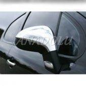 Peugeot 308 Krom Ayna Kapağı 2 Parça 2007 2014 Paslanmaz Çelik