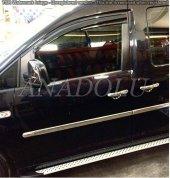 Volkswagen Caddy (Maxi) Krom Yan Kapı Çıtası 4 Parça 2010 2015