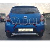 Dacia Sandero Stepway Formlu Krom Bagaj Alt Çıtası...