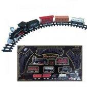 Oyuncak Büyük Tren Seti 33 Parça 83 Cm