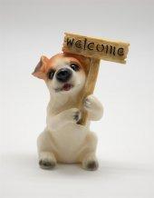 Biblo Köpek Welcome Yazılı