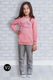 Roly Poly 2175 10 14 Garson Boy Kız Çocuk Eşofman Takımı
