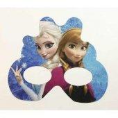 6 Adet Elsa Karton Gözlük Kız Doğum Günü Parti Malzemesi