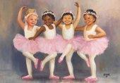 Puzzle 500 Parça Minik Balerinler Little Ballerinas