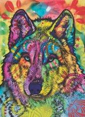 Puzzle 1000 Parça Kurt Bakışı The Stare Of The Wolf