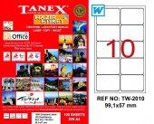 Tanex Tw 2010 Lazer Etiket