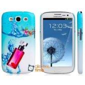 Samsung Galaxy S3 Kılıf Parfüm Şişesi Baskılı