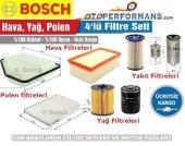 Vw Polo 1.2 Tdı Bosch Filtre Bakım Seti 4lü (2010 2014)