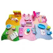 Hello Kitty Evim Güzel Evim Full Set