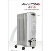Awox 8 Dilim Fanlı Yağlı Radyatör Isıtıcı