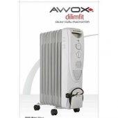 Awox 8 Dilim Yağlı Radyatör Isıtıcı