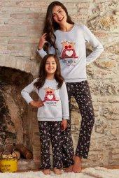 Pierre Cardin 7226 10 14 Garson Boy Kız Çocuk Pijama Takımı