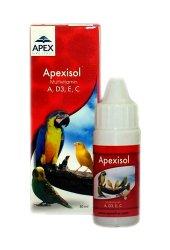 Apex İsol Kuşlar İçin Multivitamin 30 Ml