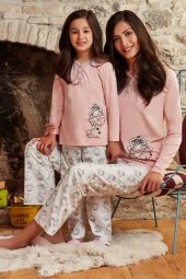 Pierre Cardin 7202 10 14 Garson Yaş Kız Çocuk Pijama Takımı