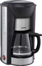 Vestel 1001z Siyah Inox Kahve Makinesi
