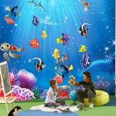 Nemo 3 Boyutlu Duvar Kağıdı (5 M)