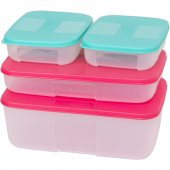 Tupperware Melek Set (Yeni Renk) (4 Parça)