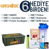 Grenade 50 Calibre Pre Workout 50 Servis Kola 6 Hediye