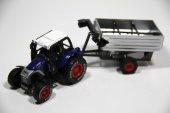 Vardem Kutulu Çekbırak Oyuncak Traktör (Lacivert)
