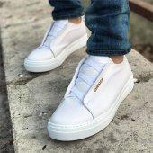 Chekich Bağcıksız Beyaz Erkek Ayakkabı