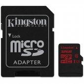 Kingston 32gb Micro Sd Hafıza Kartı C10 U3 4k Sdca3 32gb