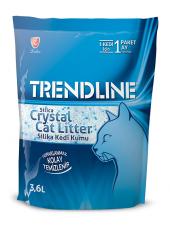 Trendline Süper Emici Tozsuz Silika Kristal Kedi Kumu 3.6 Lt