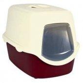 Trixie Kedi Kapalı Tuvaleti,bordo Krem 40x40x56cm