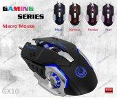 Gamemax Gm X3295k Kablolu Ücretsiz Macrolu 4 Renk Işıklı Gaming Oyuncu Mouse