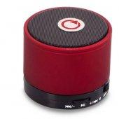 Mıkado Md 10bt Kırmızı Bluetooth Speaker Mıcrosd+fm