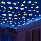 Karanlıkta Parlayan Yıldızlar Sticker