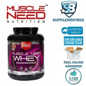 Muscle Need 50 İzole Whey Protein 2.27 Kg